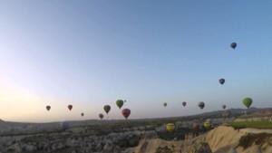 Kapadokya Balonları - Timelapse
