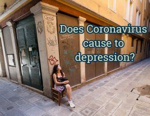 Coronavirus in Italy -depression