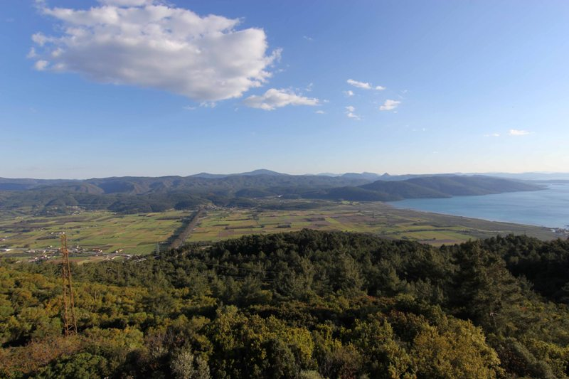A view from south-west Turkey, Muğla province.
