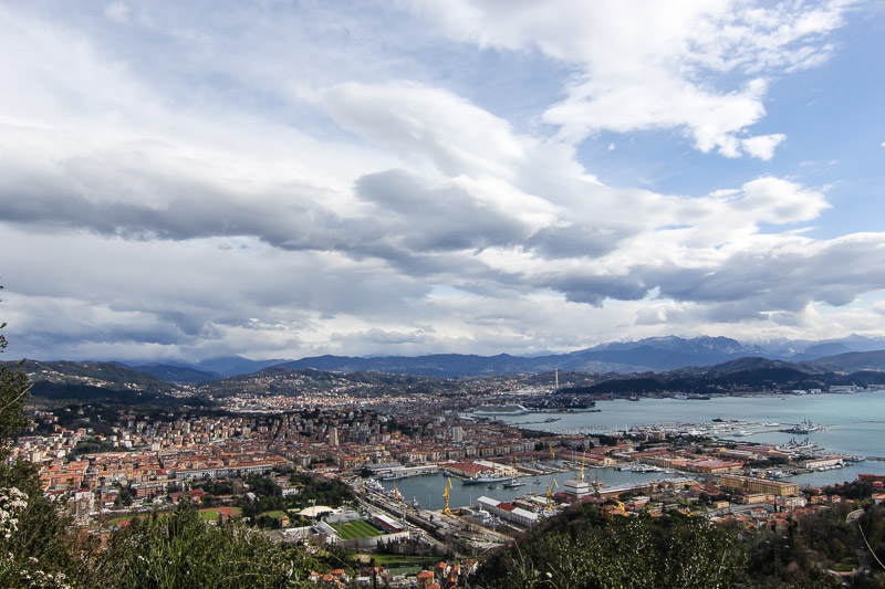 La Spezia, one of the little city in Italy..