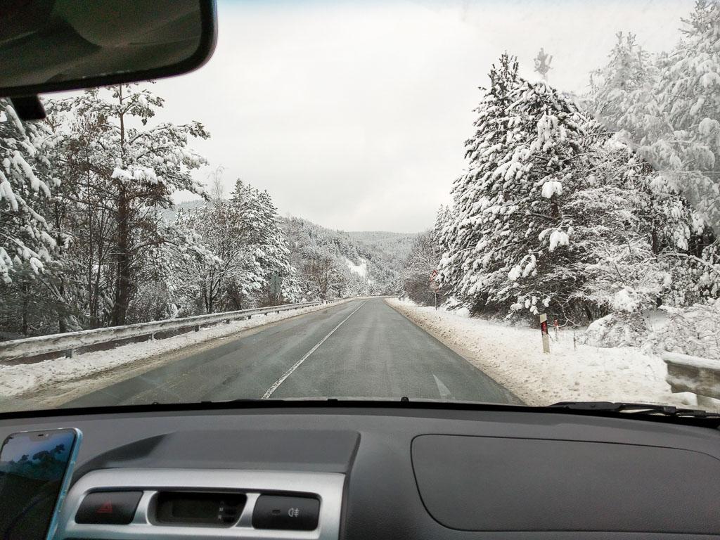 Bulgaristan otoban- bulgary highway