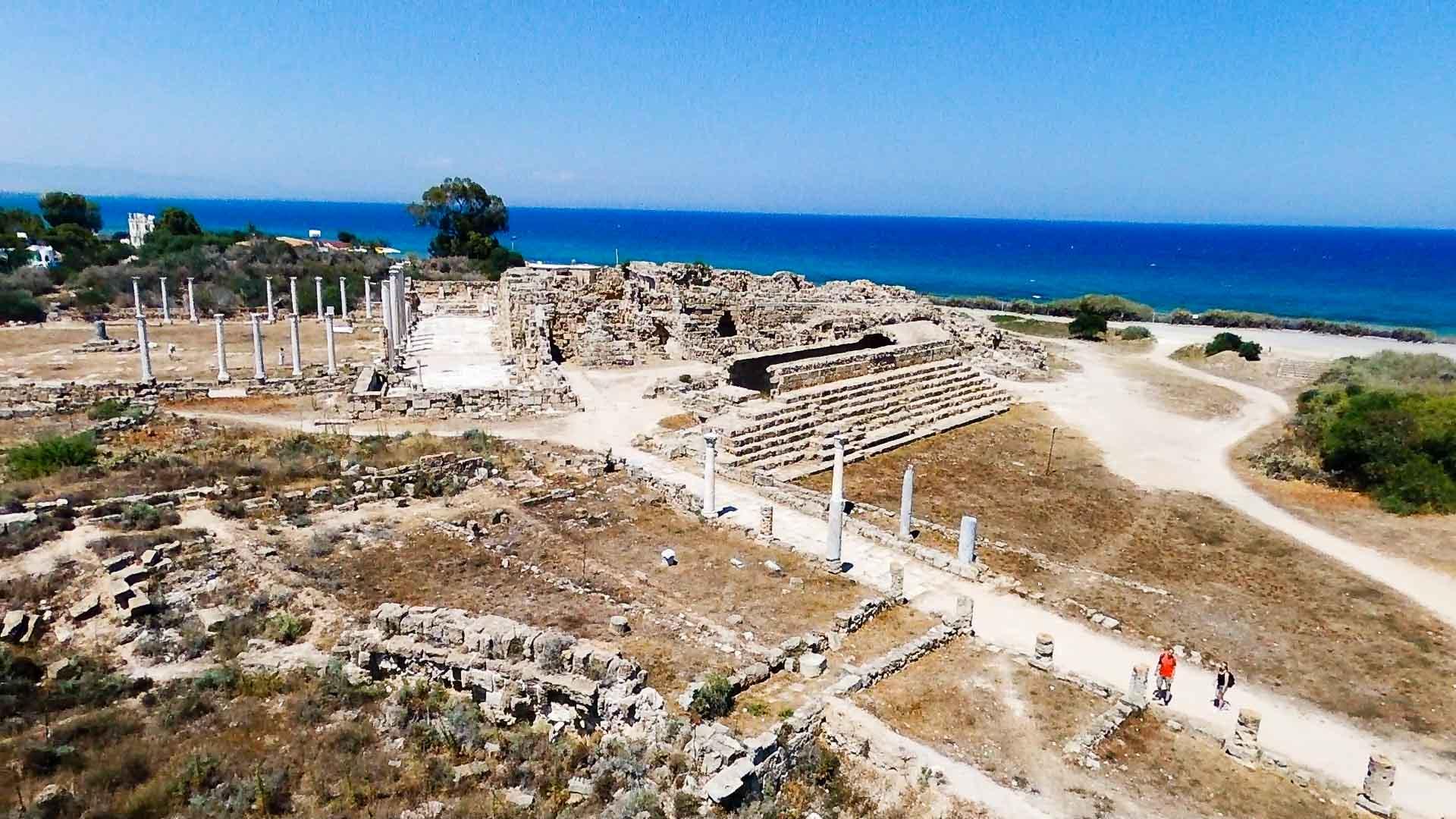 Kuzey Kıbrıs - Salamis
