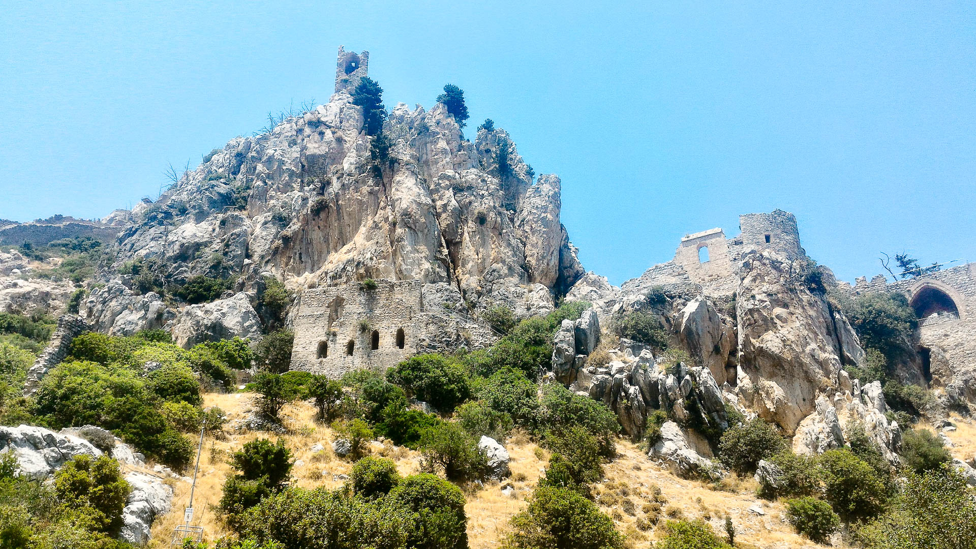 Northern Cyprus Saint Hilarion Castle