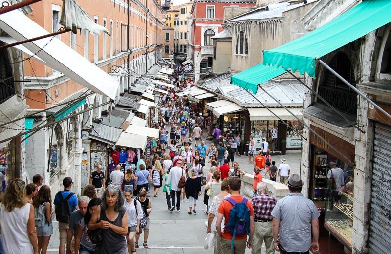 Venedik'te sakin bir gün