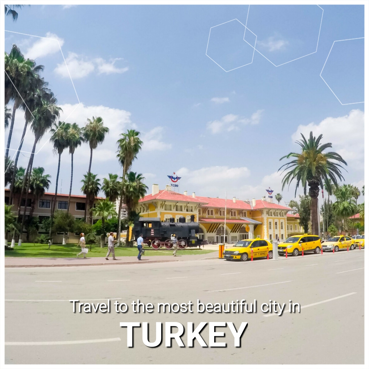 Travel to the most beautiful city in Turkey