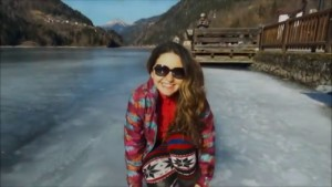 Alplerde Donmuş Göl | Alleghe-İtalya